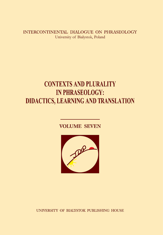 Contexts and Plurality in Phraseology Cover