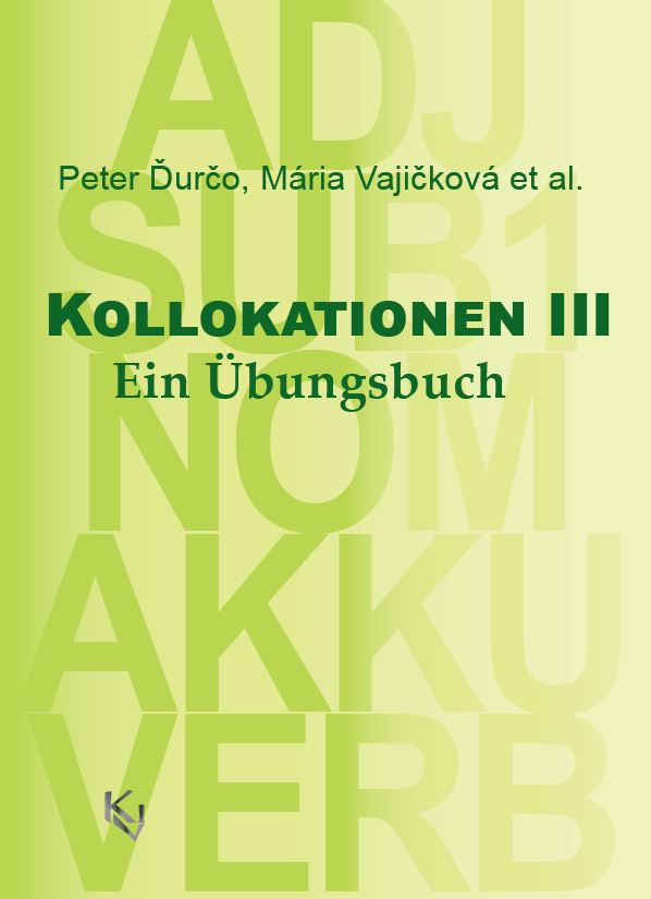 Kollokationen III cover