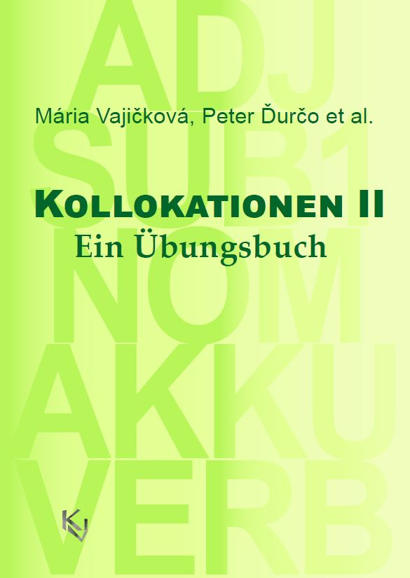 Kollokationen II cover