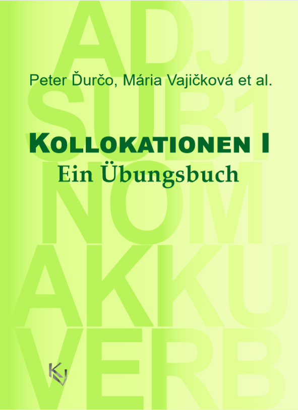 Kollokationen I cover